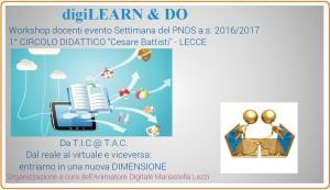 Workshop settimana PNSD